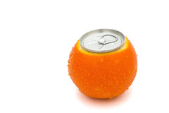 Beverage can's top Royalty Free Stock Image