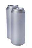 Beverage can on white Royalty Free Stock Photos