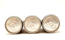 Beverage cans Royalty Free Stock Photos