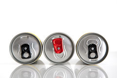 Beverage cans Royalty Free Stock Photography