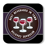 Beverage Coaster6 Royalty Free Stock Photography