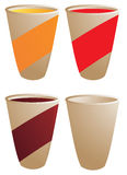 Beverage cup Royalty Free Stock Photography