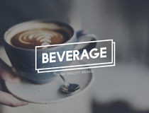 Beverage Drinks Freshness Cheers Toast Concept Stock Image