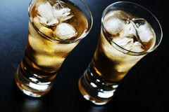 Beverage in a glass Royalty Free Stock Photography