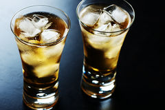 Beverage in a glass Stock Photos