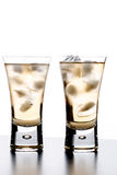 Beverage in a glass Royalty Free Stock Photos