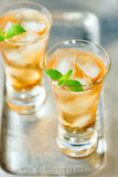 Beverage in a glass Royalty Free Stock Images