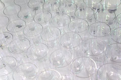 Beverage Glasses Pattern Royalty Free Stock Image