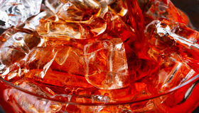 Beverage with ice Stock Image