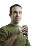 Beverage Man Stock Image