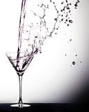 Beverage Pour Royalty Free Stock Photography