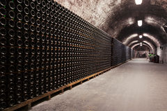 Beverage storage cellar Royalty Free Stock Images