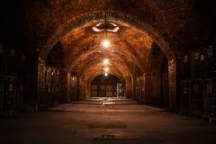 Beverage storage cellar Royalty Free Stock Images