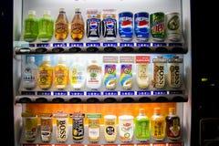 Beverage vending machine in Japan Royalty Free Stock Images