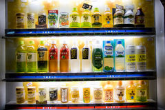 Beverage vending machine in Japan Royalty Free Stock Photos