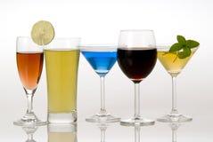Beverages. A beverage - wine,juice,drink Stock Photo