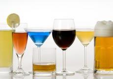 Beverages. A beverage - wine,juice,drink Royalty Free Stock Photo