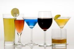 Beverages. A beverage - wine,juice,drink Stock Image