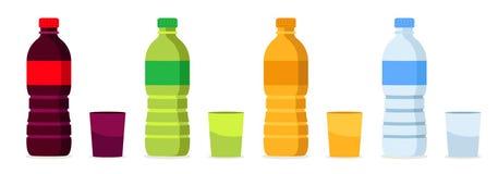 Beverages bottles Stock Images