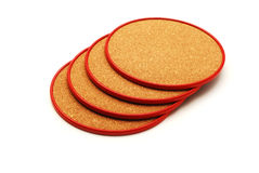 Beverages coasters Royalty Free Stock Photos