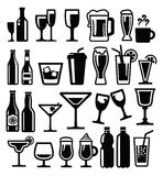 Beverages Icon Stock Images
