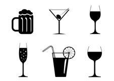 Beverages Stock Image