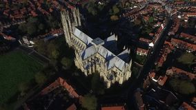 Beverley大教堂,东部约克夏 股票录像