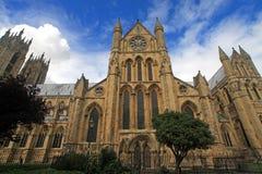 Beverley大教堂 库存图片