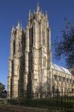 Beverley Minster - Berverley - Yorkshire - Engeland stock foto's
