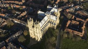 Beverley Minster, Landmark and tourist attraction,. Yorkshire Market town Stock Photography