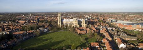 Beverley Minster, Landmark and tourist attraction,. Yorkshire Market town Stock Image