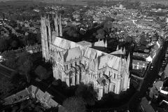 Beverley Minster, Oost-Yorkshire royalty-vrije stock fotografie