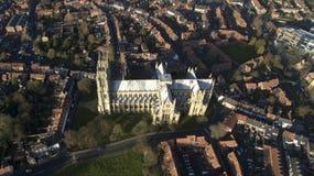 Beverley Minster, Oriëntatiepunt en toeristische attractie, royalty-vrije stock foto's