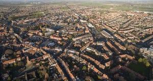 Beverley Minster, Oriëntatiepunt en toeristische attractie, stock foto