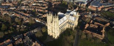 Beverley Minster, Oriëntatiepunt en toeristische attractie, royalty-vrije stock fotografie
