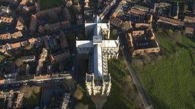 Beverley Minster, Oriëntatiepunt en toeristische attractie, stock fotografie