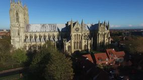 Beverley Minster, Ost-Yorkshire stock footage