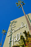 Beverly hills. The historic beverly hills hotel opened in 1912 royalty free stock image