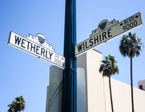 Beverly Hills Lizenzfreies Stockfoto