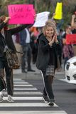 United Against Kavanaugh Protest Bevery Hills royalty free stock image