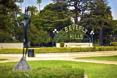 Beverly Hills California Stock Photography