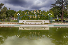 Beverly Hills, California Stock Images