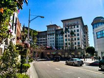 Beverly Hills fotografia stock libera da diritti