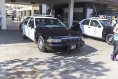Beverly Hills Chevrolet klasyczny samochód policyjny obrazy royalty free