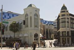 Beverly Hills city centre Stock Image