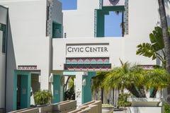 Beverly Hills Civic Center - el LOS ÁNGELES - la CALIFORNIA - 20 de abril de 2017 Fotos de archivo libres de regalías