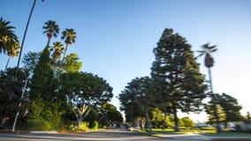 Beverly Hills Drive Through almacen de video