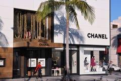Beverly Hills-Einkaufen lizenzfreies stockfoto