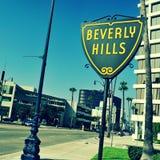 Beverly Hills, Estados Unidos Fotografia de Stock Royalty Free