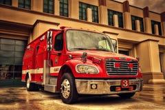 Beverly Hills Fire Truck fotografia stock libera da diritti